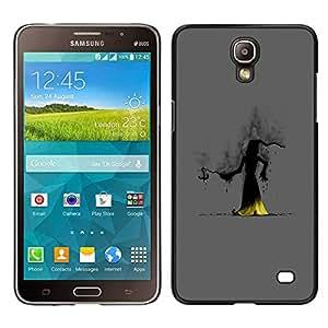 LECELL--Funda protectora / Cubierta / Piel For Samsung Galaxy Mega 2 -- El Mago Oscuro --