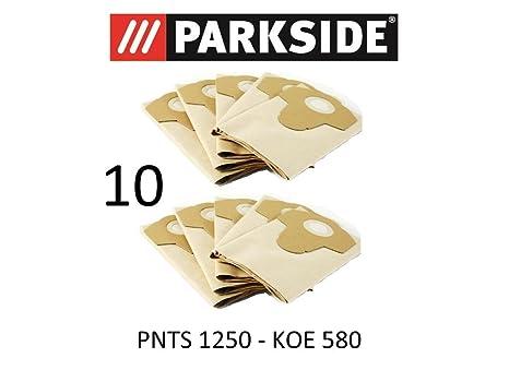 10 bolsas de aspiradora Parkside 20 L pnts 1250 Lidl Koe 580 ...