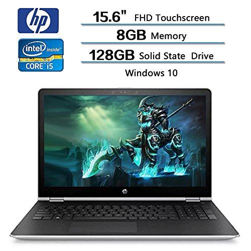 (HP x360 2-in-1 Convertible Laptop 15.6 FHD Touchscreen, Intel Core i5-7200U, 8GB RAM, 128GB SSD, AMD Radeon 530 2GB Dedicated Graphics, Windows 10, Stylus Pen Included (Renewed))