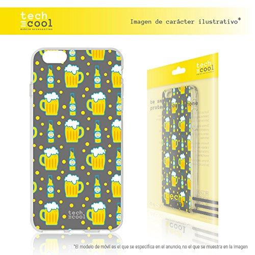 Iphone 6 Plus / 6S Plus Coque, Funnytech® Housse premium Souple TPU Silicone pour Iphone 6 Plus / 6S Plus l [couleurs très vives] [Design exclusif, Impression haute définition] [Ultra Mince 1,5mm] [So