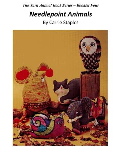 The Yarn Animal Book Series: Needlepoint Animals