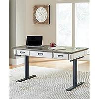 Martin Furniture Electric Sit/Stand Desk, White
