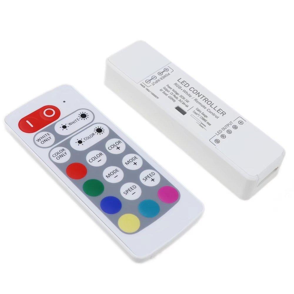 LEDENET 20keys RGBW LED Strip Light RF Remote Controller for 3528 5050 SMD Flexible LED Ribbon