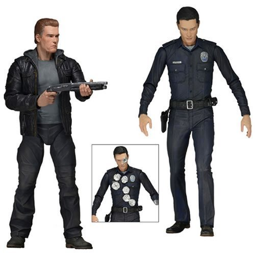 Neca Terminator Genisys 7-Inch Action Figures Set of 2