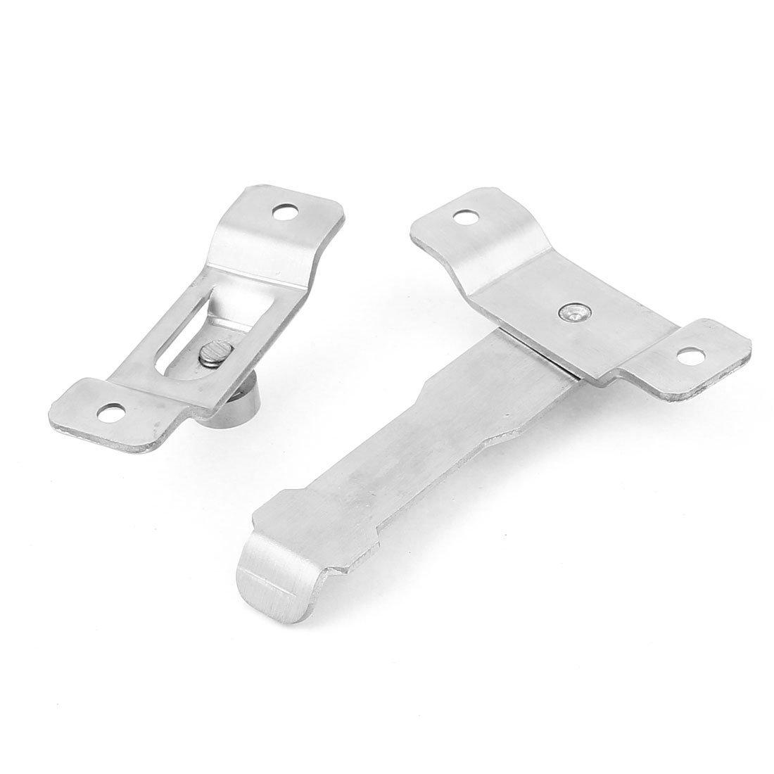 110 mm de largo de acero inoxidable para puerta y ventana de seguridad cierre de la cerradura del perno - - Amazon.com