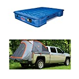 truck bed air mattress ford - Pittman PPI-101 & Rightline 110710 Truck Tent & Mattress Bundle for 8' Full Size Long Beds