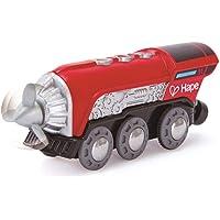 Hape Kids Wooden Railway Propeller Steam Engine