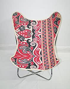 Classic Butterfly Chair Cover Kantha Butterfly Chair Cover With Chair Frame