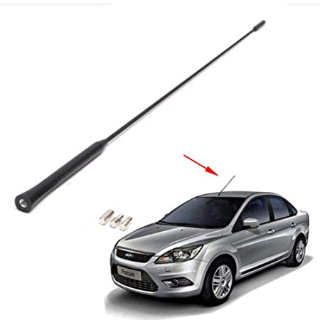 Lecimo El Kit De Base + MáStil De Antena Am/FM para Techo Se Adapta A Ford Focus 2000-2007: Amazon.es: Coche y moto