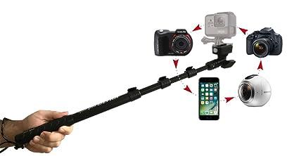 Quik Pod SPORT Waterproof GoPro Selfie Stick, Durable Aluminum  Construction, Salt-Waterproof, Extendable Arm 15 5 to 39 Inches, 360 Degree  Pan and