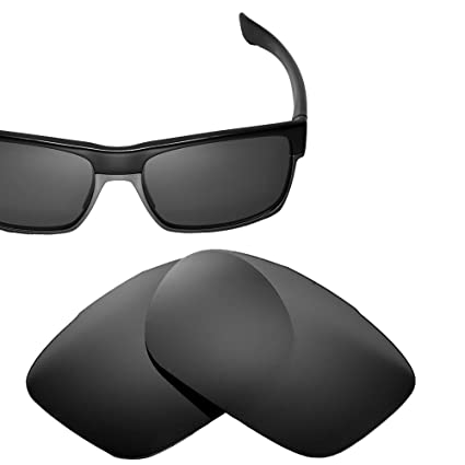 2b80daa760 Cofery Replacement Lenses for Oakley TwoFace Sunglasses - Multiple Options  Available (Black - Non Polarized
