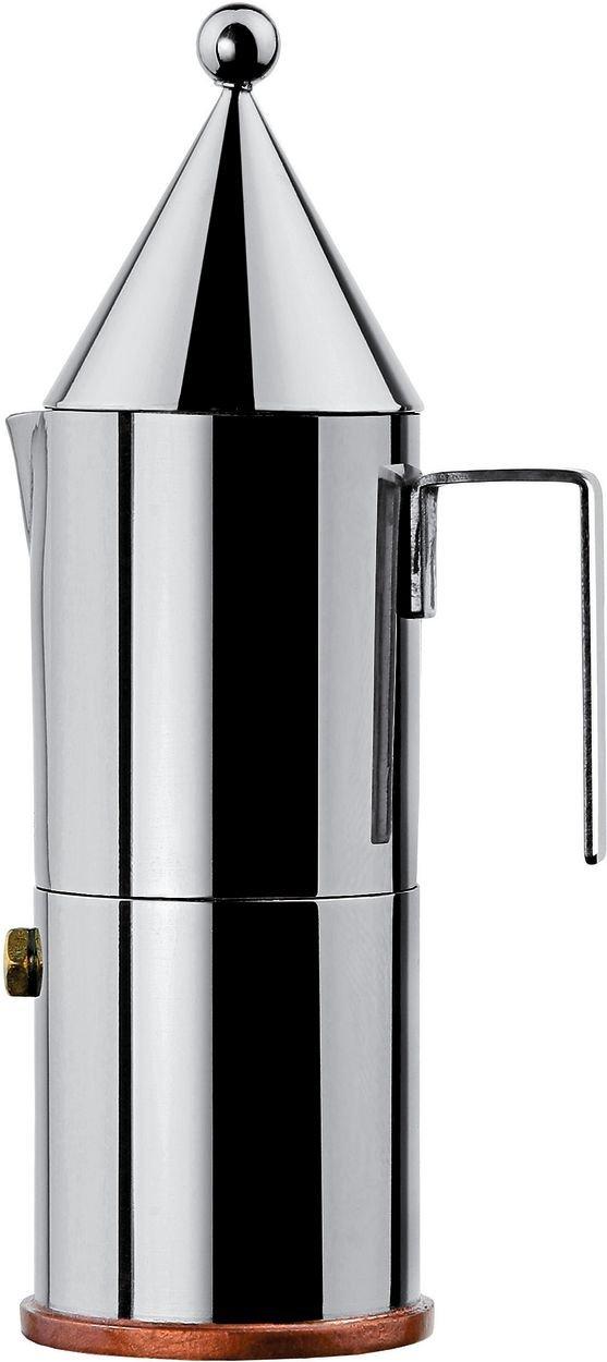 Alessi La Conica Espresso Maker - 6 Cup
