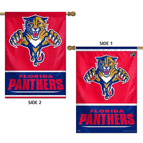 Wincraft NHL Florida Panthers 2 Sided Vertical Flag, 28 x 40