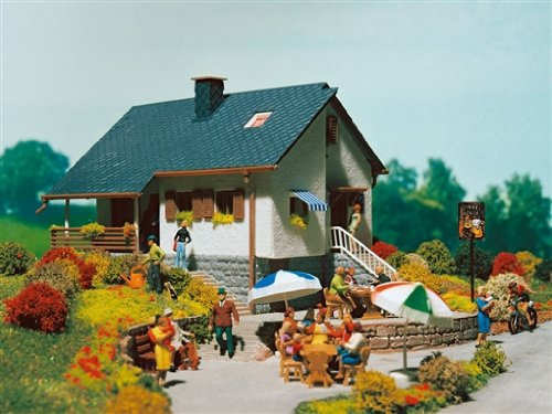 Vollmer 3848 - Haus im Park Modelleisenbahn / Aufbauten Modelleisenbahn / Einzel- Einfamilien- und Reihenhäuser