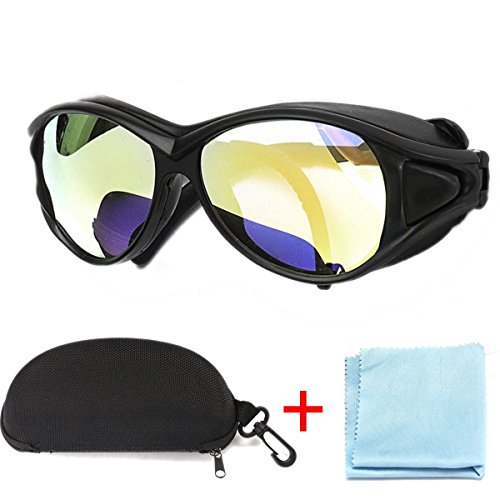 (Ship from US)CO2 Laser Protective Glasses Goggles Double-Layer Professional Glasses 10.6um OD+7