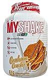 Pro Supps Myshake Premium Tri-Source Protein Shake, Graham Cracker, 4 Pound