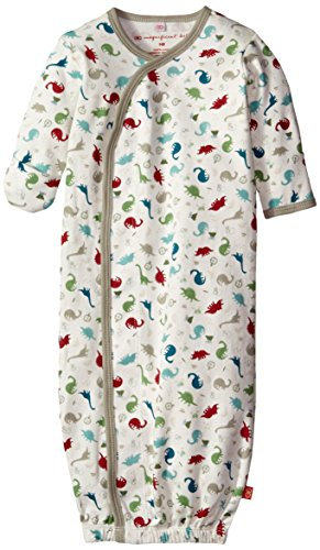 Magnificent Baby Baby-Boys Dino Expedition Gown, Dino Explorer, New Born