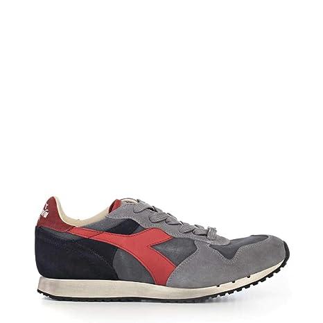 Diadora trident Basse sw Scarpe Sneakers Uomo s Heritage Blu SFWxI0wq