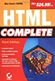 HTML Complete, Sybex Inc. Staff and Dave Evans, 0782142095