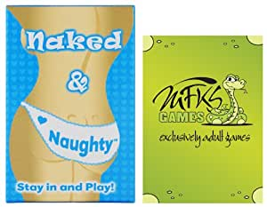 Naked and Naughty, Adult Card Game For Couples and Lovers, Bundle