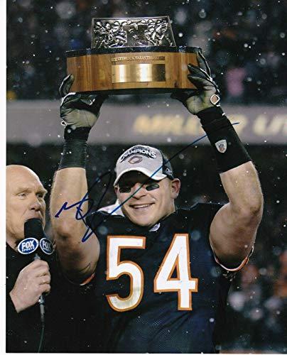 - Autographed Brian Urlacher Photograph - 8x10 - Autographed NFL Photos