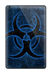 Shock-dirt Proof Biohazard Symbol Cases Covers For Ipad Mini