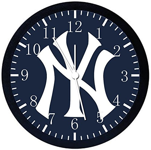 Yankees Black Frame Wall Clock Z163 Nice For Gift or Office Home Wall Decor 10