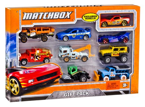 Matchbox X7111 9-Car Gift Pack (Styles May Vary)