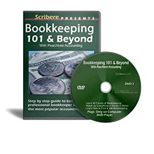 Bookkeeping 101 & Beyond Using Peachtree Accounting Software [Interactive DVD]