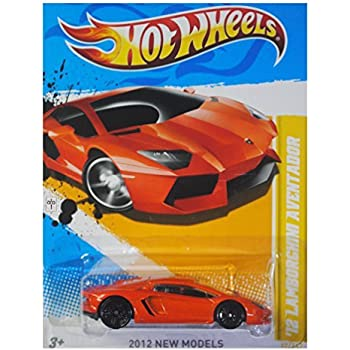 Lamborghini Aventador Orange >> Hot Wheels 2012 New Models 12 Lamborghini Aventador Orange 12 247