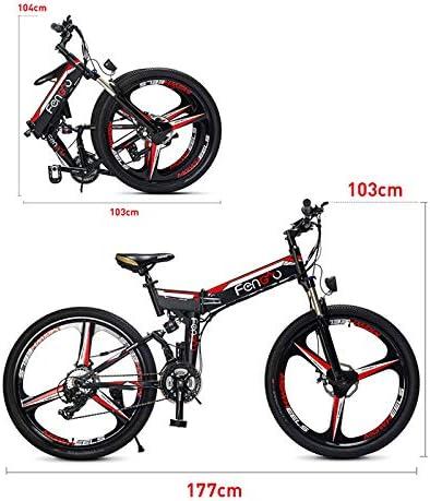 Link Co 26 Pulgadas Grasa neumático Bicicleta eléctrica 48 V 10.4 ...