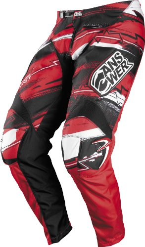 Riding Red Apparel Answer - Answer Syncron Youth Pants , Distinct Name: Red, Primary Color: Red, Size: 16, Gender: Boys, Size Segment: Youth 451094