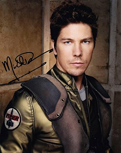 MICHAEL TRUCCO as Ensign Samuel Anders - Battlestar Galactica GENUINE AUTOGRAPH from Celebrity Ink