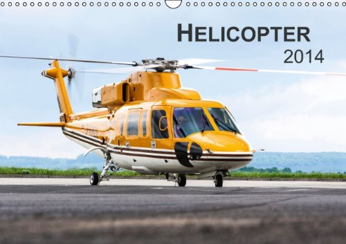 Helicopter 2014 (Wandkalender 2014 DIN A3 quer): Helicopter 2014 (Monatskalender, 14 Seiten)