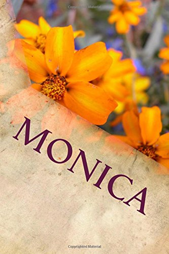 Monica: Personalized Name Journal ebook