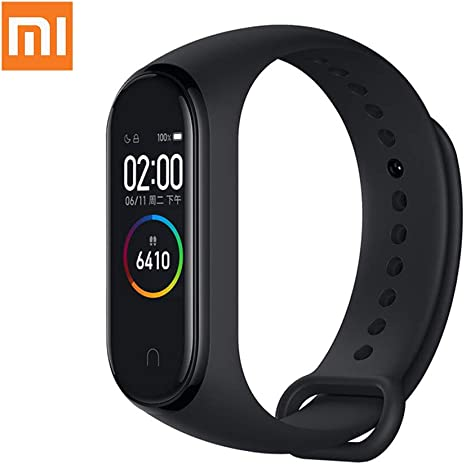"Xiaomi Mi Band 4 Fitness Tracker, Newest 0.95"" Color AMOLED Display Bluetooth 5.0 Smart Bracelet Heart Rate Monitor 50 Meters Waterproof Bracelet with ..."