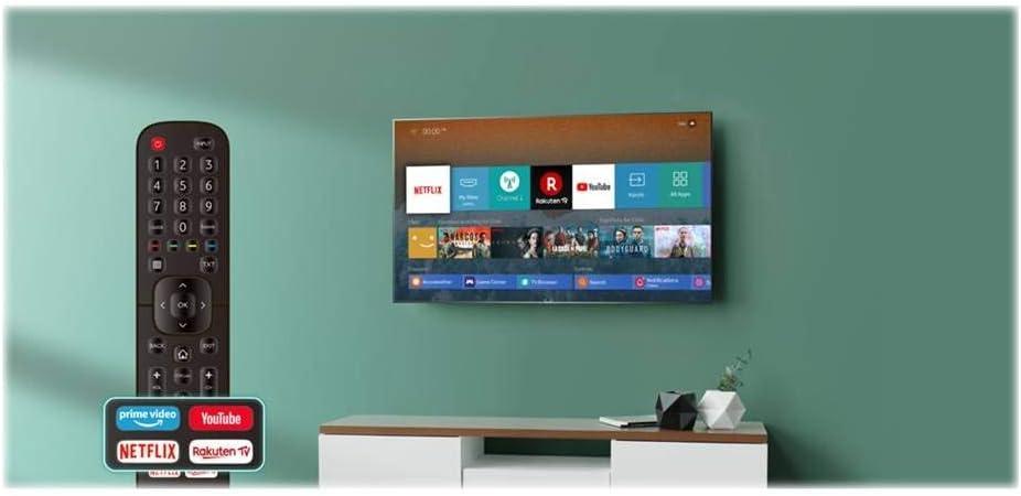 TELEVISOR 43 43B7100 UHD STV WiFi HDR HISENSE: Hisense: Amazon.es: Electrónica