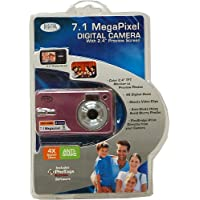 Digital Concepts 7.1 MP Digital Camera With Anti-shake- Pink
