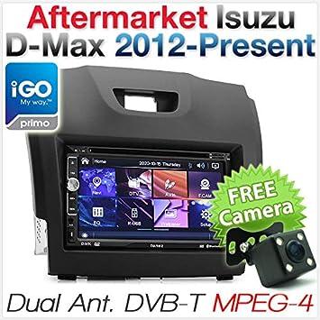Reproductor de DVD GPS para Coche Isuzu Mu-X MUX D-MAX Radio Estéreo Digital TV USB MP3 USB CD: Amazon.es: Electrónica