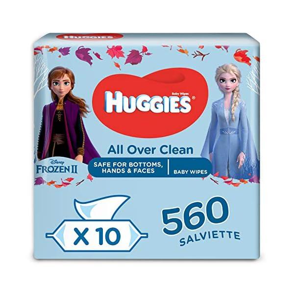 Huggies Disney Salviette Umidificate per Bambini, 10 Pacchi da 56 Pezzi 1
