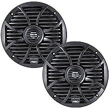 "Wet Sounds SW Series Black Closed Grill 6.5"" Speakers 120 Watt Peak Power"