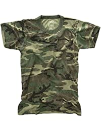 Kids Vintage T-Shirt - Woodland Camo
