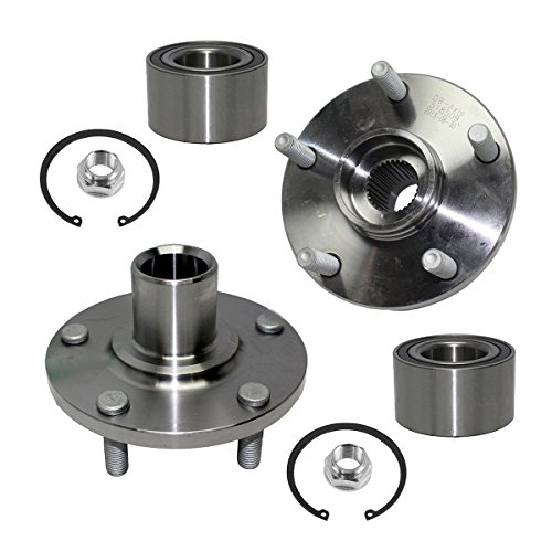 Detroit Axle - Front Wheel Bearing & Hub Assembly Left & Right Side for 92-03 Lexus ES300 - [92-03 Camry V6] - 95-04 Avalon - [98-03 Sienna] - 99-03 RX300 FWD - [99-03 Solara V6 Only]