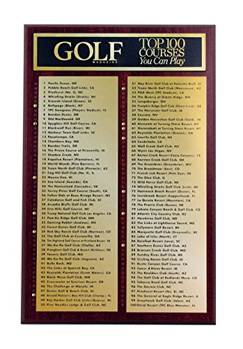 Golf Plaque - 2