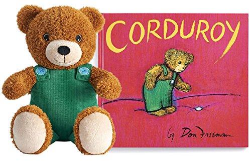 Corduroy Bear Plush and Book Gift Set Bundle (Kohl's Cares)