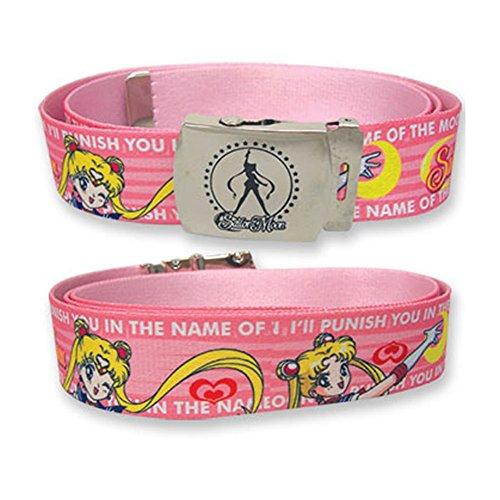 """Sailormoon Sailor Moon """"Ill Punish You.."""" Fabric Belt"""