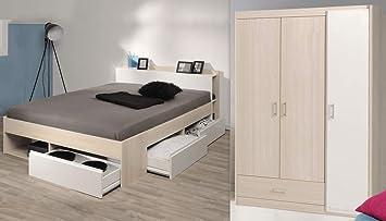 Expendio Jugendzimmer Morris 71 Akazie Bett 140x200