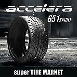 アクセレラ651SPORT 265/35R18 93W (TREADWEAR200) 新品サマータイヤ