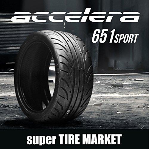 アクセレラ651SPORT 235/35R19 91Y (TREADWEAR200)  新品サマータイヤ B07DCKG3PH