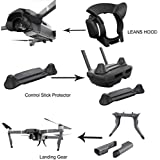 DZT1968 NEW ExtendedPrecision Landing Gear+Split-type Lens Hood+Portable Rocker Protector For DJI Mavic Pro Parts